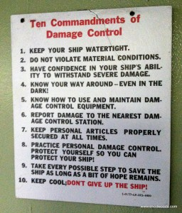 Ten Commandments of Damage Control