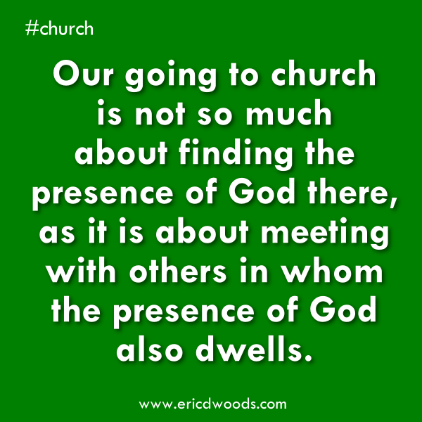 Let Us Draw Near To God With A Sincere Heart Eric D Woods