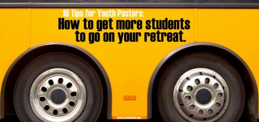 How to get more students to go on your retreat.